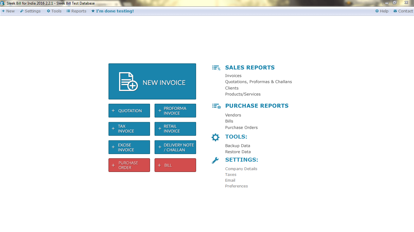 Free Billing Software GST Invoice India - Sample consultant invoice template tobacco online store